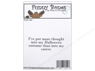 Careers & Professions Rubber Stamping: Riley & Company Cling Stamps Halloween Costume
