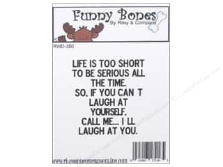 Just For Laughs: Riley & Company Cling Stamps I'll Laugh At You