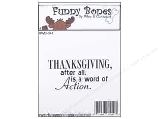Paper House Fall / Thanksgiving: Riley & Company Cling Stamps Thanksgiving