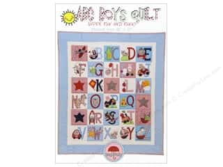 ABC & 123: Red Brolly ABC Boys Quilt Pattern