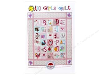 ABC & 123 paper dimensions: Red Brolly ABC Girls Quilt Pattern