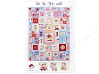 Appliques Toys: Red Brolly The Fun Girls Quilt Pattern