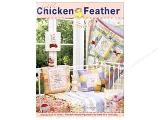 Appliques Toys: Red Brolly Little Chicken Feather & Friends Book