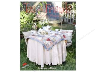 needlework book: Red Brolly Tea With Friends Book