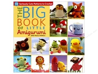 Doll Making Hot: That Patchwork Place The Big Book Of Little Amigurumi Book