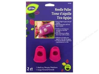 Finger Protector/Thimbles Yarn & Needlework: LoRan/Dritz Notions Stay-On Needle Puller Medium And Large