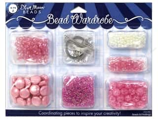 Blue Moon Beads Beads: Blue Moon Beads Bead Wardrobe Kit Pink