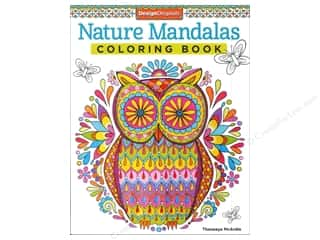 Activity Books / Puzzle Books: Design Originals Nature Mandalas Coloring Book