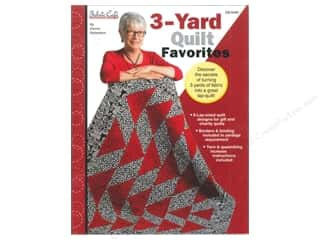 Quilting Fabric: Fabric Cafe 3 Yard Quilt Favorites Book