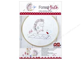 Transfers New: Red Brolly Kit Forest Folk Hopscotch