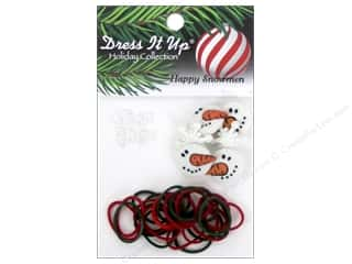 Bands New: Jesse James Kit Rubber Bands Happy Snowman