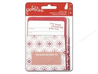 Pebbles Inc New: Pebbles We Go Together Collection Library Tags