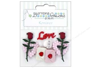Love & Romance New Year: Buttons Galore Theme Buttons Love Letter