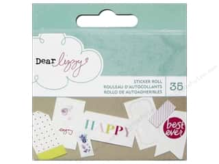 Borders New: American Crafts Sticker Roll Dear Lizzy Serendipity