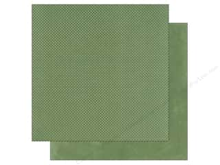 Bo Bunny New: Bo Bunny 12 x 12 in. Paper Double Dot Sea Foam (25 pieces)