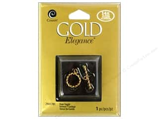Chains New: Cousin Elegance 14K Gold Plated Clasp Toggle Rope