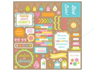 Doodlebug: Doodlebug Hello Sunshine Collection Sticker This & That (12 pieces)