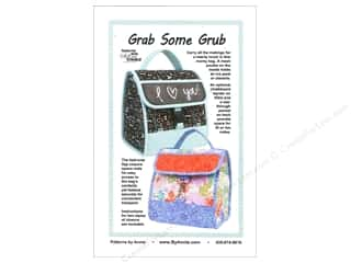 Fabric Bags / Purses: By Annie Grab Some Grub Pattern