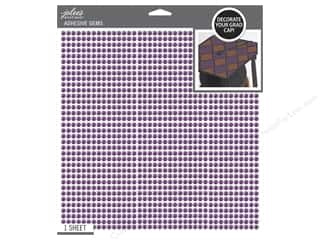 EK Jolee's Boutique Grad Cap Sticker Bling Purple