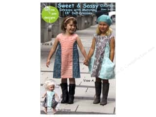 Wearables: Olive Ann Sweet & Sassy Size 2-10 Pattern