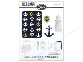 Sizzix Dies Rachael Bright Thinlits Nautical Picture