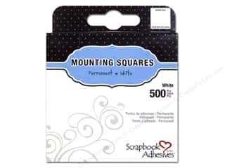 Weekly Specials Paper Trimmers: 3L Scrapbook Adhesives Mounting Squares 500 pc. White