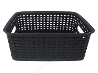 scrapbooking storage: Storage Studios Bin Weave Small Black