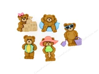 Summer Fun: Jesse James Dress It Up Embellishments Summer Bears
