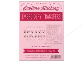 Sublime Stitching: Sublime Stitching Patterns Tattoo Alphabet Pattern
