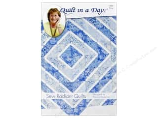 Sewing & Quilting: Quilt In A Day Sew Radiant Quilts Pattern