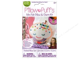 Weekly Specials Tombow Adhesives: Darice Pillow Puff Felt & Charm Kit Mini Cupcake Pillow