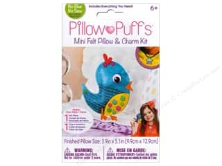 Weekly Specials Tombow Adhesives: Darice Pillow Puff Felt & Charm Kit Mini Bird Pillow