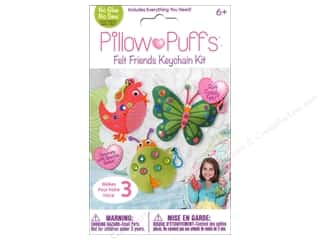 Weekly Specials Tombow Adhesives: Darice Pillow Puff Felt Kit Felt Friends Keychain