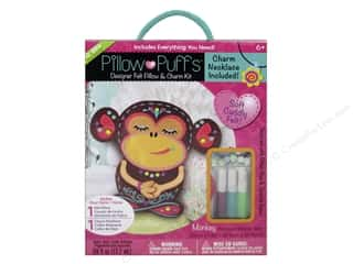Weekly Specials Glue Guns: Darice Pillow Puff Felt & Charm Kit Designer Big Monkey