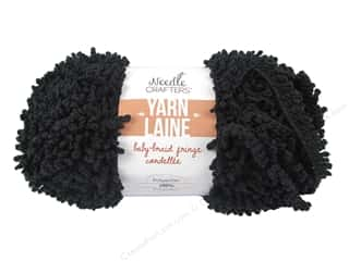 Multicraft Yarn Baby Braid Fringe 1.7oz Black Picture