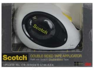 "Double-sided Tape: Scotch Tape Runner Double Sided Applicator 1/2""x 250"""