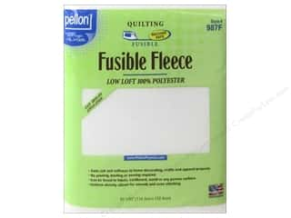 white interfacing: Pellon Fusible Fleece 45 x 60 in. White