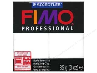weekly specials clay: Fimo Professional Clay 3 oz. White (4 packages)