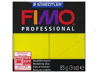 weekly specials clay: Fimo Professional Clay 3 oz. Lemon (4 packages)