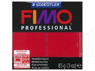 weekly specials clay: Fimo Professional Clay 3 oz. Carmine (4 packages)