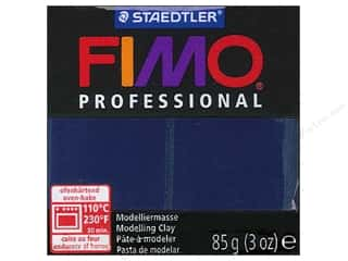 weekly specials clay: Fimo Professional Clay 3 oz. Navy Blue (4 packages)
