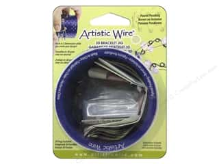 beadalon wire working tools: Artistic Wire 3D Bracelet Jig