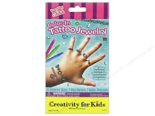 Weekly Specials Faber Castell: FaberCastell Creativity For Kids Color In Tattoo Jewelry
