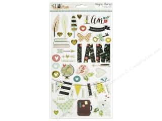 Anniversary Sale-abration Paper Accents Chipboard: Simple Stories I AM Collection Chipboard