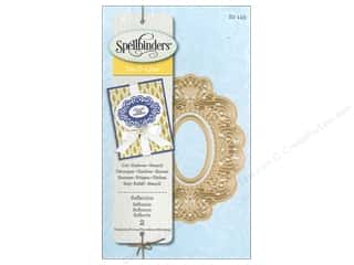 oval mirror: Spellbinders D-Lites Die Reflection