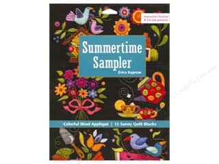 animal quilt & publishing: C&T Publishing Summertime Sampler Book by Erica Kaprow