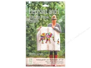 animal quilt & publishing: Stash By C&T Elephant And I Quilt And Pillow Pattern