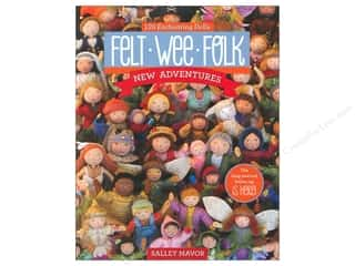 C&T Publishing Felt Wee Folk Book by Salley Mavor