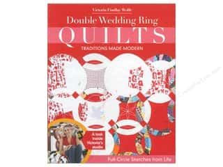 C&T Publishing: Stash By C&T Double Wedding Ring Quilt Book
