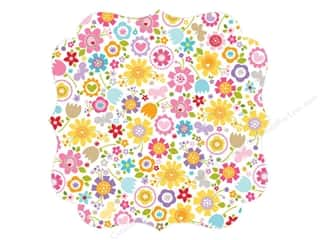 Spring Paper: Bella Blvd Invisibles Die-Cut Transparency 12 x 12 in. Simply Spring Awesome Blossom (12 pieces)